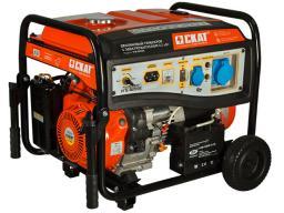 Бензиновый генератор УГБ-8000Е