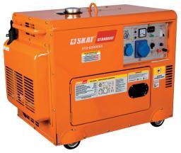 Дизельный генератор УГД-5300ЕК