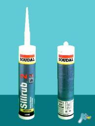 Нейтральный низкомодульный герметик Silirub 2 310 мл SOUDAL