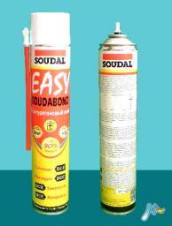 Клей пена Easy Soudabond в аэрозольном баллоне 750 мл SOUDAL