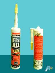 Клей-герметик нейтральный Fix-All HT с быстрым схватыванием 290 мл SOUDAL