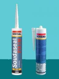 Клей-герметик низкомодульный эластичный Soudaseal 215 LM 290 мл SOUDAL