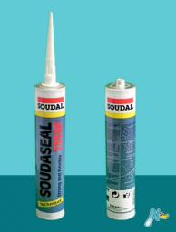 Клей-герметик эластичный с прочным креплением Soudaseal 235 SF 290 мл SOUDAL
