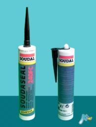 Клей-герметик эластичный быстрого отверждения Soudaseal 240 FC 290 мл SOUDAL БЕЛЫЙ