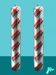 Клей-герметик эластичный быстрого отверждения Soudaseal 240 FC 600 мл SOUDAL