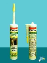 Клей 47A для зеркал каучуковый 300 мл SOUDAL