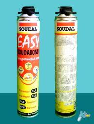 Клей полиуретановый Easy Soudabond Gun в аэрозольном баллоне 750 мл SOUDAL