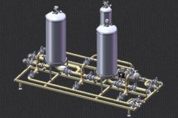 Двухкаскадная установка с блоком промывки УФ-2/1-7,5/4,5-2011/А7