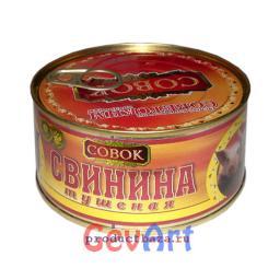 Тушенка свиная СОВОК. 325 г