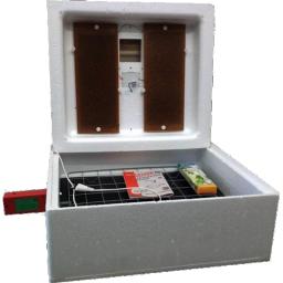 Инкубатор для 63 яиц с цифровым термостатом, с автоматическим переворотом