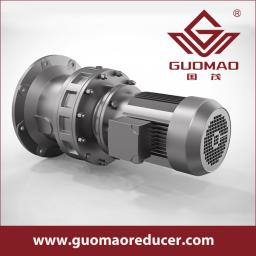 GUOMAO single stage cycloidal speed gear reducer for bucket conveyors industry in china