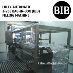 Полностью автоматическая оборудование для розлива в мешки с носик Bag-in-Box (BIB)