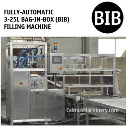 Полностью автоматическая машина розлива в мешки с носик Bag-in-Box (BIB)