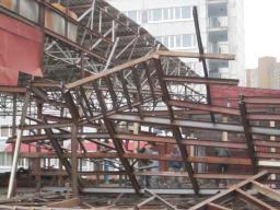 демонтаж зданий, металлоконструкций любой сложности.