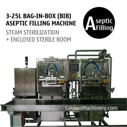 Полуавтоматическая борудование для асептического розлива в мешки с носик Bag-in-Box (BIB)