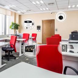 Установка видеодомофона в офис