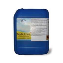 Средство против водорослей в бассейне Альба супер 10 литров, Chemoform