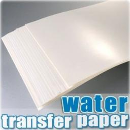 A4 струйная водная деколь бумага для керамического стекла печати