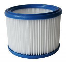 Фильтр складчатый из полиэстера для пылесоса Bosch GAS 15L, GAS 20 L, GAS 1200L