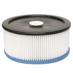 Фильтр складчатый из полиэстера для пылесоса Metabo AS 20 L, ASA 32 L, AS 1200, ASA 1201, ASA 1202, ASA 2002