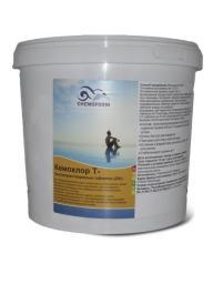 Хлор шок для бассейна Кемохлор-Т (20 гр) 5 кг Chemoform