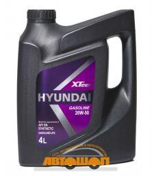 Моторное масло HYUNDAI  XTeer Gasoline 20W50, 4 л