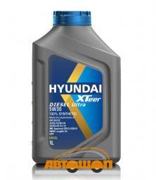 Моторное масло HYUNDAI  XTeer Diesel Ultra 5W30,  1 л, синтетическое