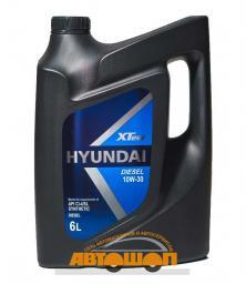 Моторное масло HYUNDAI  XTeer Diesel 10W30,  6 л, синтетическое