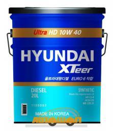 Моторное масло HYUNDAI  XTeer Heavy Duty Ultra 10W40,  20 л