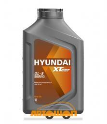 Трансмиссионное масло HYUNDAI  XTeer Gear Oil-5 80W90,  1 л