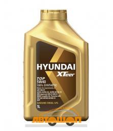 Моторное масло HYUNDAI  XTeer TOP 5W40, 1 л, синтетическое
