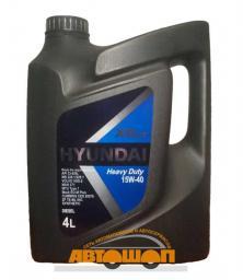 Моторное масло HYUNDAI  XTeer Heavy Duty  15W40, 4 л