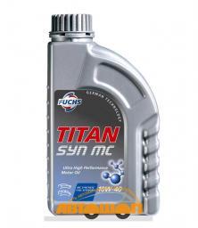 Моторное масло FUCHS TITAN SYN MC 10W-40 1л