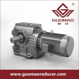 GUOMAO factory outlet GS series helical worm reducer for conveyor