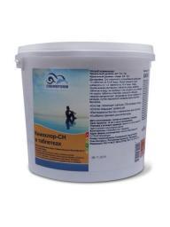 Хлор для бассейна в таблетках Кемохлор-СН (20 гр) 5 кг Chemoform