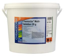 Хлор таблетка 3 в 1 (20 гр) 10 кг Chemoform