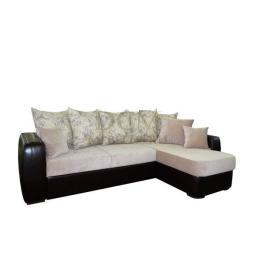 Угловой диван «Бриз-Л» с оттоманкой