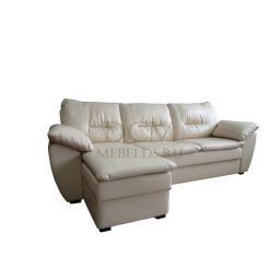Угловой диван «Евро-Бриз» с оттоманкой