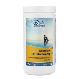 Кислород для бассейнов Аквабланк в таблетках (20 гр) 1 кг Chemoform