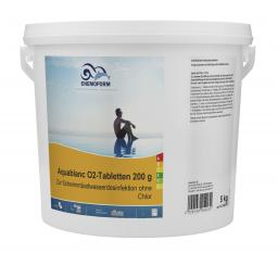 Кислород в таблетках Аквабланк О2 (200 гр) 5 кг Chemoform