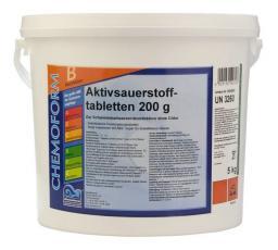 Активный кислород Аквабланк О2 в таблетках (200 гр) 10 кг Chemoform