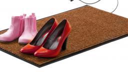 Теплолюкс-carpet 80х50  коврик подогреваемый  (Цвет серый)