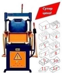 Вибропресс ВП-600 для блоков №3