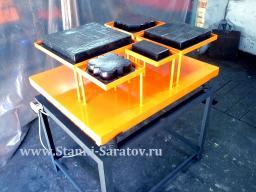 Промышленный расформовочный вибростол для плитки