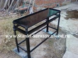 Виброустановка для изготовления блоков и плитки 6-БФ