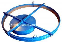Форма для крышки и днища колодца ПН-20