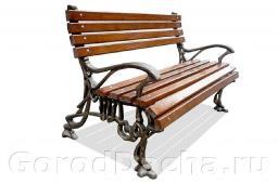 Скамейка чугунная литая «Готика»