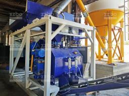 Сверхмобильный бетонный завод Мобил-20