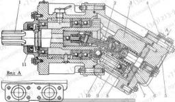 Гидронасос PZI-18 для погрузчиков Амкодор