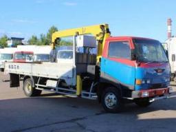 Аренда грузовика Hino Ranger / Услуга Кран-манипулятор в Домодедово